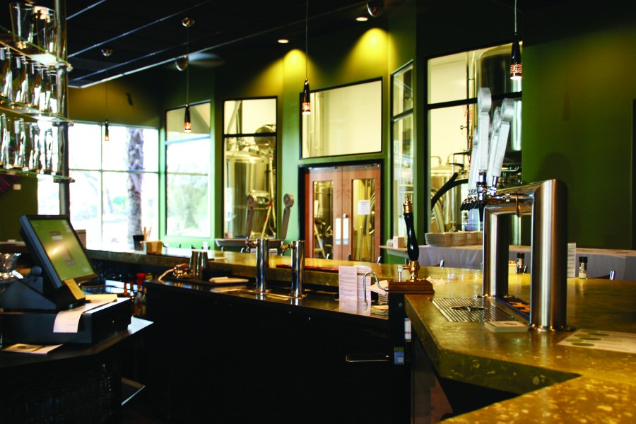 10 View of Brewery from Behind Bar